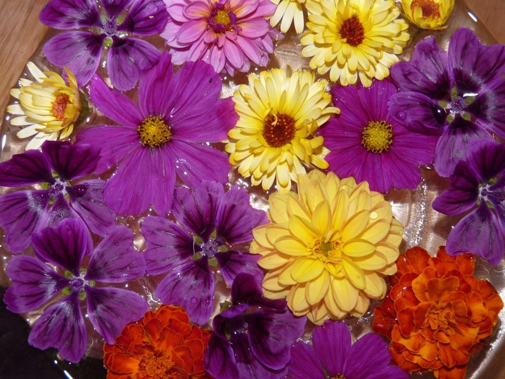 Kandierte Blüten